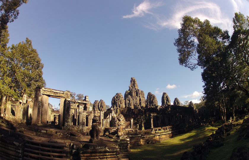 Siem Reap heroes with GoPro