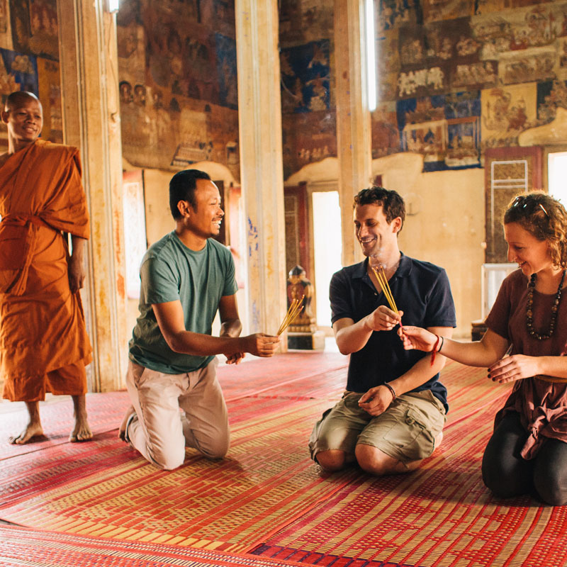 More than just sightseeing tours in Cambodia