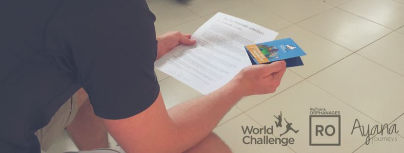 Orphanage tourism workshops | World Challenge